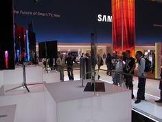 Viele Leute an der Ausstellung