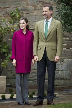 Queen Letizia of Spain Photos Photos - King Felipe VI of Spain and Queen Letizia of Spain visit Los Oscos Region on October 22, 2016 in Los Oscos, Spain. The region of Los Oscos was honoured as the 2016 Best Asturian Village. - Spanish Royals Visit Los Oscos Region