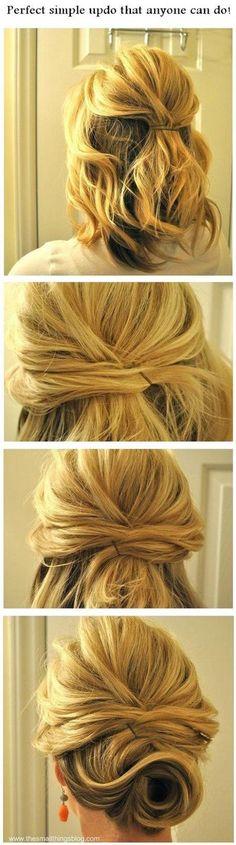 No tienes que tener una cabellera larga para lucir un peinado estupendo. Si tienes el cabello corto y estás cansada de