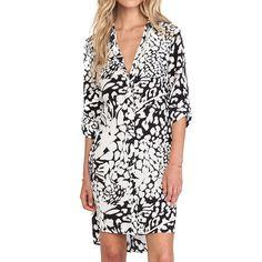 Rank & Style - Diane von Furstenberg Prita Printed Silk Shirtdress #rankandstyle #dresses #animalprint http://www.rankandstyle.com/top-10-list/best-animal-print-dresses-2/