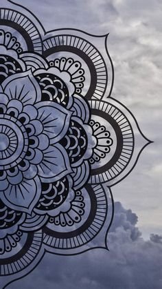 Mandala wallpaper by Maussk now. Browse millions of popular cielo wallpapers and ringtones on Zedge and personalize your phone to suit you. Browse our content now and free your phone Mandala Doodle, Mandala Art Lesson, Mandala Sketch, Mandala Tattoo, Easy Mandala Drawing, Mandala On Wall, Mandala Artwork, Doodle Art Drawing, Art Drawings