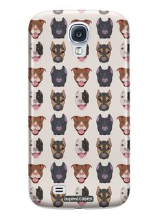 Dog Face Pattern Case for Galaxy S4