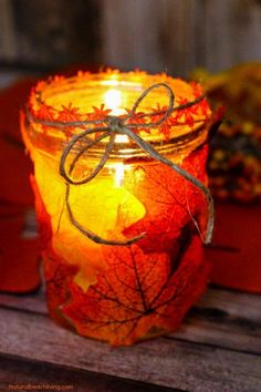 How to Make Fall Leaf Candle Mason Jar Crafts is part of Kids Crafts Halloween Mason Jars How to Make Easy Fall Leaf Candle Mason Jar Crafts, Easy DIY Fall Candle Jar, Fall Crafts for Kids, Fall Cra - Fall Crafts For Adults, Easy Fall Crafts, Crafts For Teens To Make, Crafts For Seniors, Elderly Crafts, Adult Crafts, Spring Crafts, Kids Crafts, Holiday Crafts