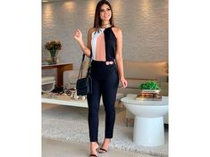 Stylish Work Outfits, Office Outfits Women, Business Casual Outfits, Professional Outfits, Mode Outfits, Cute Casual Outfits, Chic Outfits, Spring Outfits, Fashion Outfits