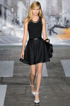 Love the sporty dresses for spring