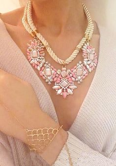 Sweet Braided Necklaces