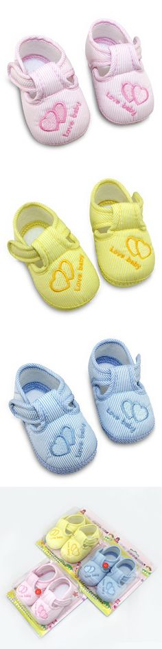 New Cotton Lovely Baby Shoes Toddler Soft Sole Skid-proof First Walkers Kids infant Shoes 3 Colors