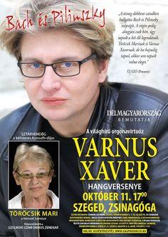 Plakát104: Varnus Xaver - Bach és Pilinszky