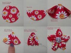 fabric flower 5 Wonderful DIY Beautiful Fabric Flowers In 6 Ways Making Fabric Flowers, Cloth Flowers, Felt Flowers, Flower Making, Diy Flowers, Crochet Flowers, Paper Flowers, Fabric Flower Headbands, Fabric Roses