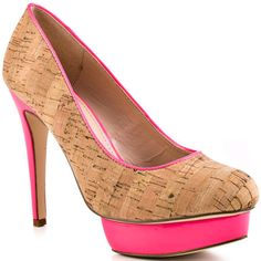 """Money can't buy you love but what about """"Hot Pink""""? Can you feel the love with every step in these sizzling """"Hot"""" Pink heels ? - love and be loved"""