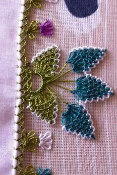 Picture Only of Turkish Needle Lace Crochet Edging Patterns, Crochet Borders, Tatting Patterns, Crochet Diagram, Doily Patterns, Filet Crochet, Crochet Doilies, Crochet Stitches, Embroidery Patterns