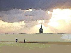 'Wangerooge Westturm' von Dirk h. Wendt bei artflakes.com als Poster oder Kunstdruck $18.03