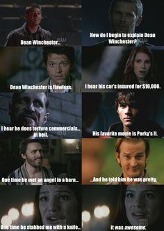 supernatural meets mean girls