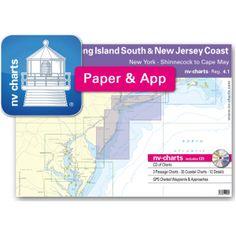 NV-Charts Reg. 4.1 - New Jersey Coast: New York - Long Island South to Cape May - £69