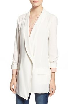 Leith Long Tuxedo Blazer available at #Nordstrom