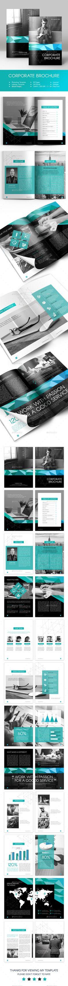 Corporate Brochure Template. Download here: http://graphicriver.net/item/corporate-brochure/14642851?ref=ksioks