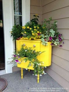 Martha Washington sewing tables repurposed to flower holders...LOVE IT!!!!
