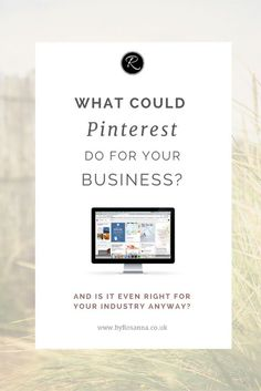 What could Pinterest do for your business? And is it right for your industry? I'm launching my Pinterest eCourse to show you exactly how to grow your business using this social media platform!