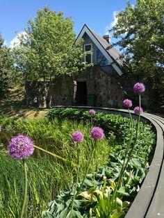 Sīpoli, Bernāti, Latvia #garden #guesthouse #beautiful #nature #latvia #travel #landscaping