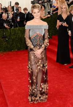 2014 #MetGala Fashion: Shailene Woodley in Rodarte. SO BREATHTAKING!