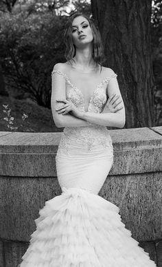 Courtesy of Dany Mizrachi Wedding Dresses; www.danymizrachi.com; Wedding dress idea.