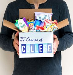 Life hack!! Our #OCMCollegeCarePackages come in reusable boxes that double as game boards! 🍿Snacks, stress relief, and social activities? Sounds like the perfect college combo. 😉   #bedroom #designgoals #ocmcollegelife #dormgoals #dormdecor #mattresstoppers #bedding #campusliving #findyourstyle #dorm #dormlife #student #universityapproved #cookingstudent