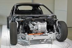 BMW i8 electric motor. Bmw Electric Car, E Electric, Ford Focus Electric, Electric Motor, Bmw I8, Kia Soul, Electric Car Conversion, Nissan, E Mobility