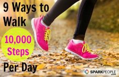 Trying to fit more activity in your life? Here are some fun strategies to get the recommended 10,000 steps every day.