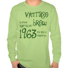 >>>Low Price          50th Birthday Gift 1963 Vintage Brew Green G212 Shirts           50th Birthday Gift 1963 Vintage Brew Green G212 Shirts in each seller & make purchase online for cheap. Choose the best price and best promotion as you thing Secure Checkout you can trust Buy bestThis Deals ...Cleck See More >>> http://www.zazzle.com/50th_birthday_gift_1963_vintage_brew_green_g212_tshirt-235099935552099114?rf=238627982471231924&zbar=1&tc=terrest
