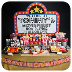 Hey, I found this really awesome Etsy listing at https://www.etsy.com/au/listing/235119268/movie-night-movie-night-party-movie