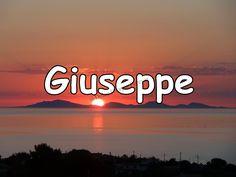 Buon Onomastico ....Giuseppe.