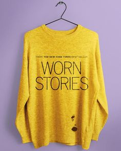 Don't miss Worn Stories: a show about clothes and the people who wear them
