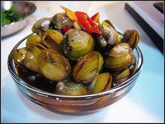 Salty clams