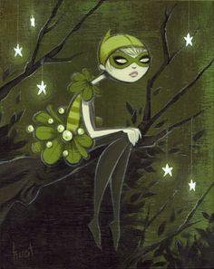 Mistletoe fairy by Krista Huot