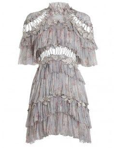 Stranded Tier Mini Dress
