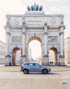 Buy a Volvo and get a vacation by taking advantage of our Overseas Delivery Program. Fly to Munich or another delivery city and test drive your new car on an inaugural road trip around Europe. Imagine telling your new XC60 where you want to go, then parking in front of the Siegestor and taking in the view.