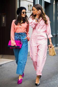 Jan 2019 - London SS 2018 Street Style: Anna Rosa Vitiello and Florrie Thomas Looks Street Style, Looks Style, Spring Street Style, Modest Fashion, Fashion Outfits, Womens Fashion, Fashion Tips, Apostolic Fashion, Fashion Poses
