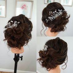 It's mannequin Monday again! Stay tuned for a quick video tutorial to follow...#updo #updotutorial #weddinghair #bridalhair #texturedupdo #lowbun #loose #romantic #romantichair #soft #classicbridalhair #modernbride #carolinabride #hairup #texture #bridalhairspecialist #bride #updotutorial #hairhowto #hairlove #hairtutorial #hairstylist #hairstylisthacks  #charlottehairstylist #charlottenc #clt #queencity #clthair #theknot www.danaraiabridal.com