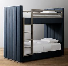 34 Affordable Bunk Beds Design Ideas For Boys Room - Parents who have more than one child will absolutely adore bunk beds for kids. They provide a fun experience of sleeping and save a lot of room space. Bunk Beds For Boys Room, Bed For Girls Room, Beds For Small Rooms, Bunk Bed Rooms, Loft Bunk Beds, Modern Bunk Beds, Full Bunk Beds, Bunk Beds With Stairs, Teen Girl Bedrooms