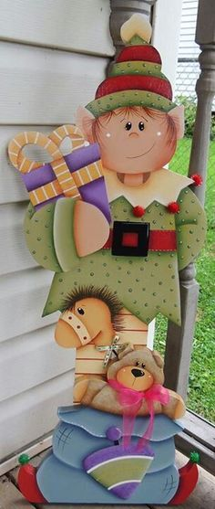 ideas for yard art patterns projects Christmas Yard Art, Christmas Wood, Outdoor Christmas Decorations, Christmas Signs, Christmas Projects, Holiday Crafts, Christmas Ornaments, Xmas, Pintura Country