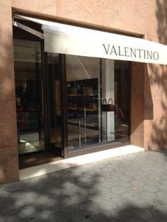Valentino Paseo de Gracia en Barcelona