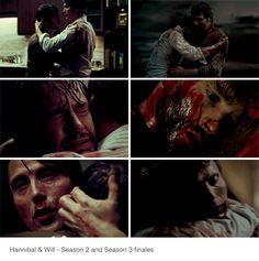Hannibal & Will Graham: S2 & S3 (stoppp it!)