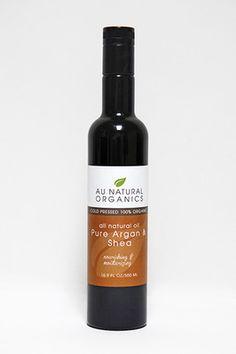 ARGAN & SHEA NUT OIL CERTIFIED ORGANIC 16 OZ ( 500 ML)