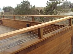 Simple and Modern Deck Railing Ideas