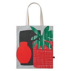 PLANT Multi-coloured printed tote bag | Buy now at Habitat UK