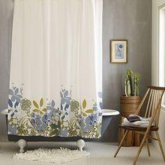 $25 I love the Spring Floral Shower Curtain on westelm.com
