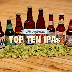The definitive top 10 IPAs, as chosen by a hopped-up panel of beer writers. Some of my favs are not on here, Lauralwood, Ptld, Freemont, Seattle, WA, Goodlife, Bend OR. Ah well...