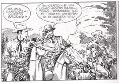 """1989, Raviola inizia quello che molti considerano il suo testamento artistico e il suo lavoro più impegnativo: i disegni per un albo speciale di grande formato di Tex Willer della Sergio Bonelli, intitolato """"La valle del terrore"""".  Ritiratosi a Castel del Rio, vi lavora per sette anni, sostanzialmente sino alla sua morte."""