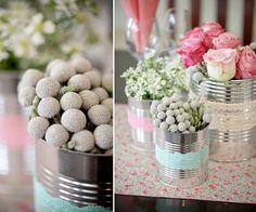 Centros de mesa DIY para tu boda #boda #diy #deco