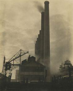 Edward Weston, Steel, Middletown, Ohio, 1922, Courtesy Gitterman Gallery
